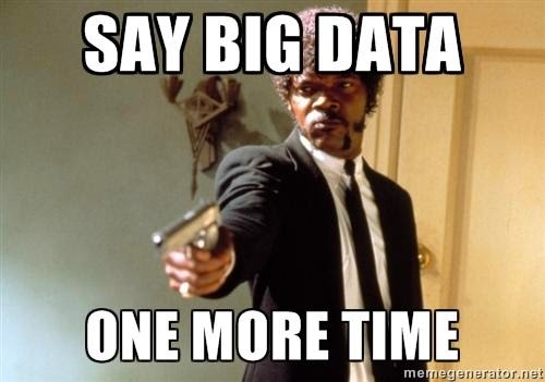 Say Big Data one more time .